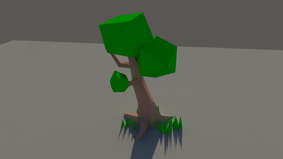 lowpolytree
