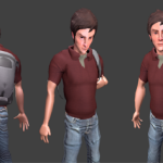 3D model of Adam