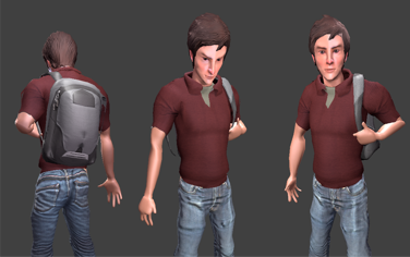 3D model of Adam from Dilemma by Shady Magdy